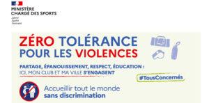 Campagne de sensibilisation et de prévention des violences dans le sport