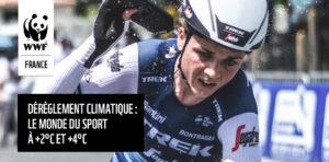 """Publication du rapport WWF """"Dérèglement climatique : le monde du sport à +2°C et +4°C"""""""