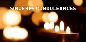 Nos condoléances à la Famille de Manon HOSTENS
